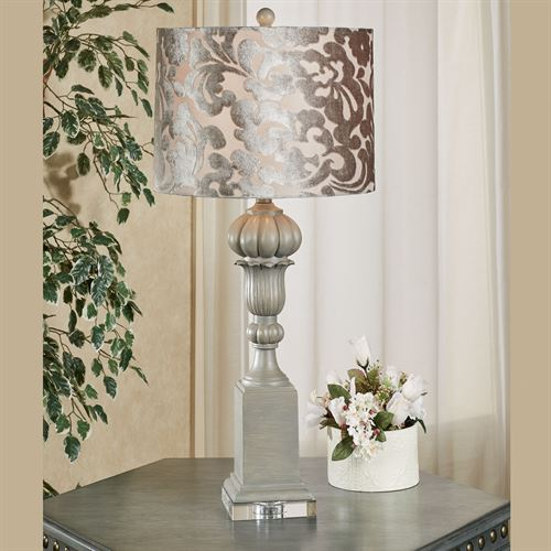Brynn Table Lamp Gray