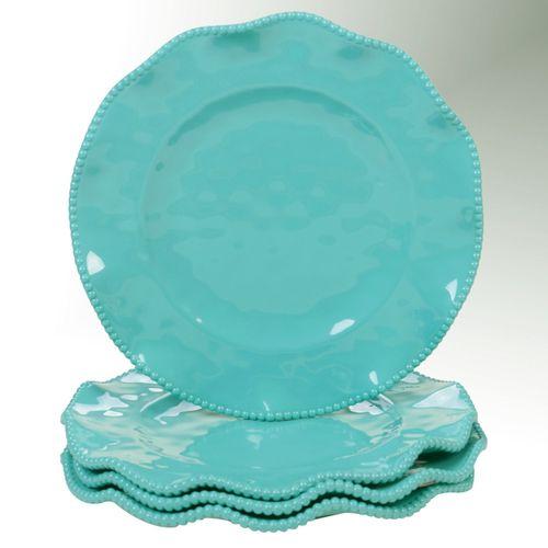 Perlette Dinner Plates Set of Four