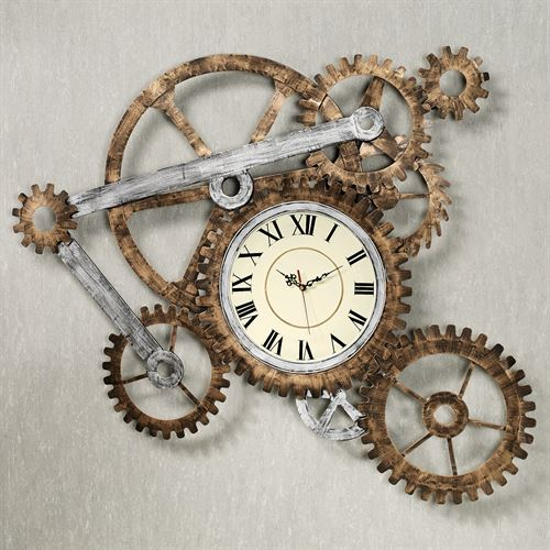 Timing Gear Wall Clock