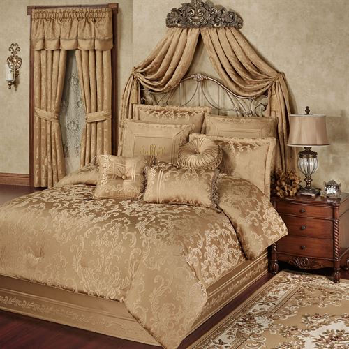 Monaco Comforter Set Gold