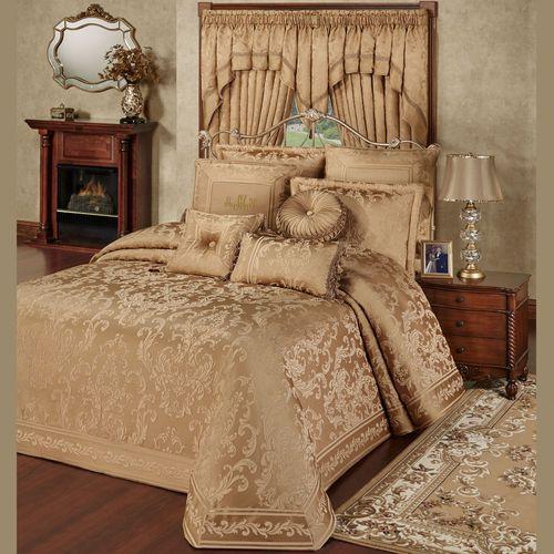 Monaco Grande Bedspread Gold