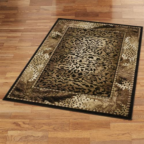 Exotic Journey Rectangle Rug Light Brown