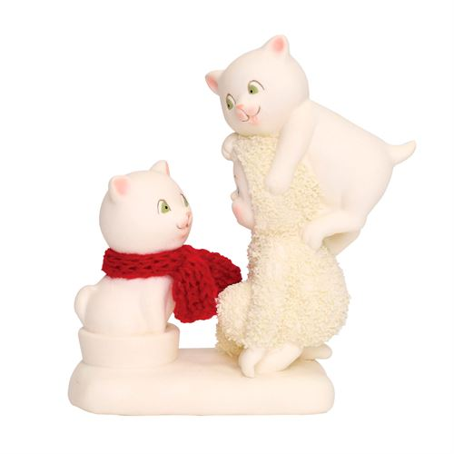 The Trouble with Cats Snowbaby Figurine Ivory