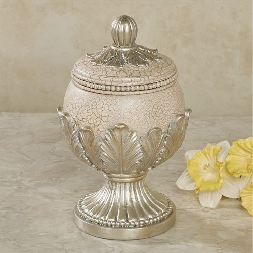 Aurelleigh Covered Jar Ivory