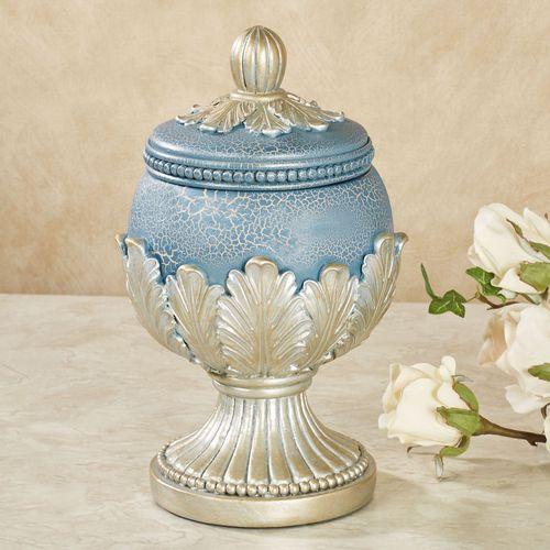 Aurelleigh Covered Jar Sapphire