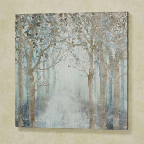 Misty Sunrise Canvas Wall Art Multi Cool