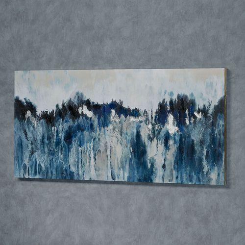 Rhapsody in Blues Canvas Wall Art