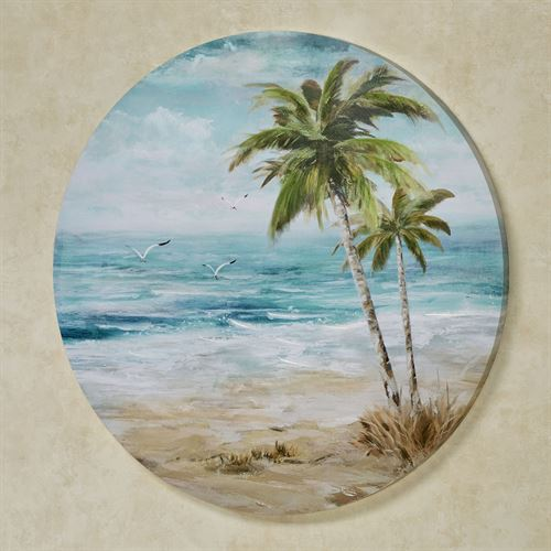 Tropical Repose Canvas Wall Art Multi Cool