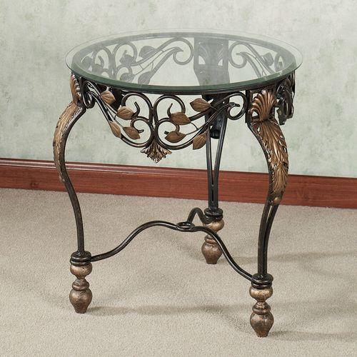 Marlow Accent Table Dark Bronze