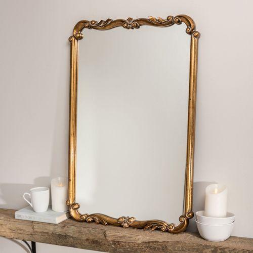 Kasandra Wall Mirror Antique Gold