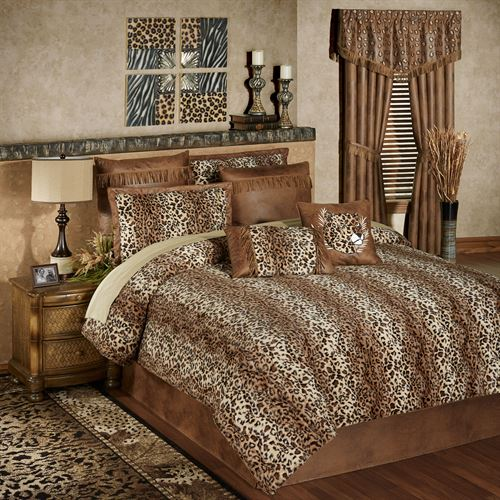 Serengeti Comforter Set Multi Warm