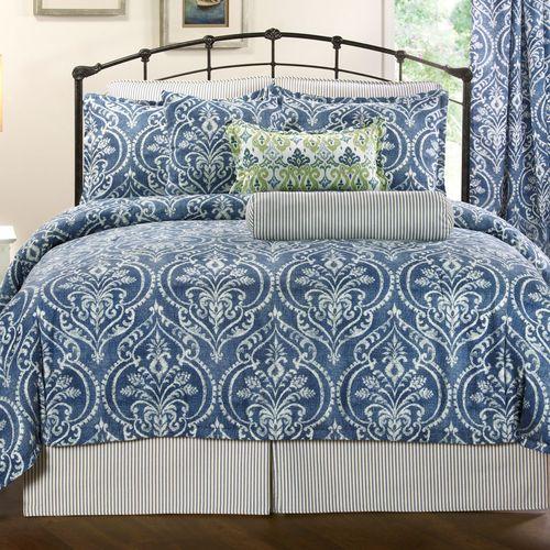 Allegra Comforter Set Midnight