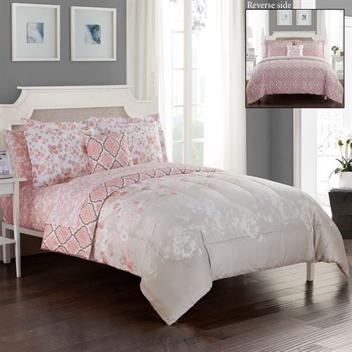Repose Comforter Bed Set Light Taupe