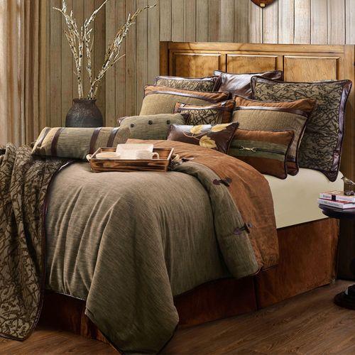 Highland Lodge Comforter Bed Set Sage