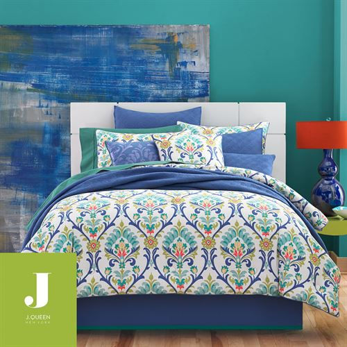 Panama Comforter Set Blue