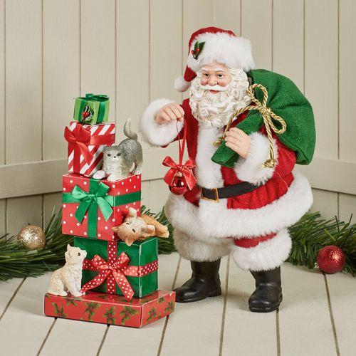Three Little Kittens Clothtique Santa Red/Green 2 Piece Set