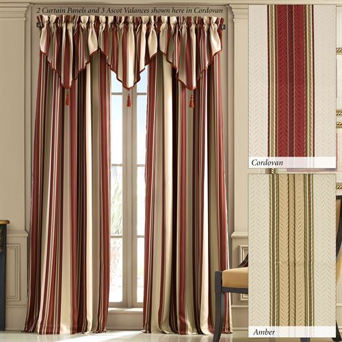 Shelburn Stripe Curtain Panel