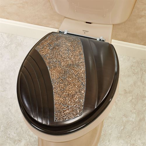 Grandeur Elongated Toilet Seat Bronze