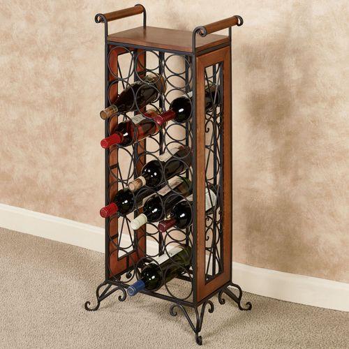 Milano Wine Bottle Rack Windsor Oak