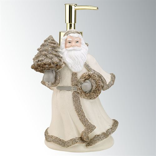 Santa Lotion Soap Dispenser Gold