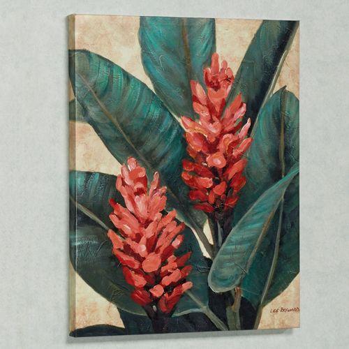Tropical Bloom II Indoor Canvas