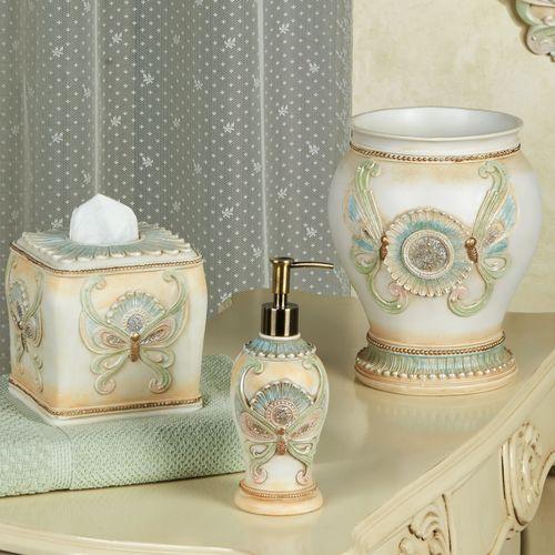 Butterfly Ballet Lotion Soap Dispenser Aqua