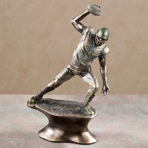 Play Hard Football Figurine Platinum