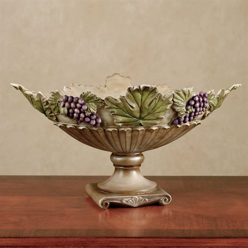 Castello di Vina Centerpiece Bowl Purple
