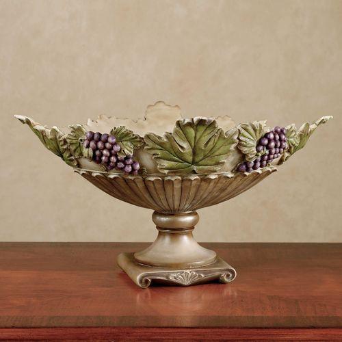 Castello di Vina Centerpiece Bowl Purple