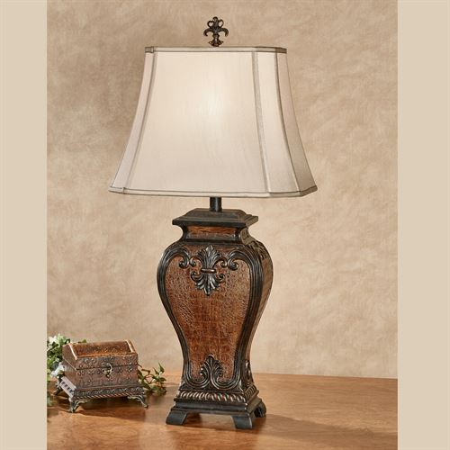 Cordelia fleur de lis textured table lamp cordelia fleur de lis textured table lamp cordelia table lamp bronze aloadofball Choice Image