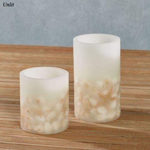 Avisa LED Candles Ivory Set of Two