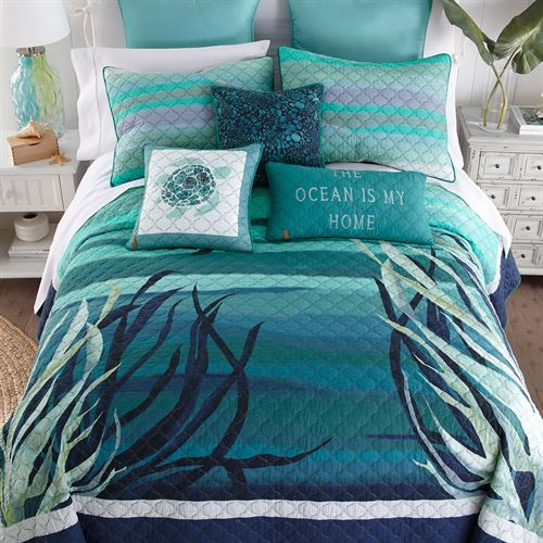 Summer Surf Quilt Multi Cool