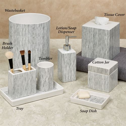 Wainscott Lotion Soap Dispenser Gray