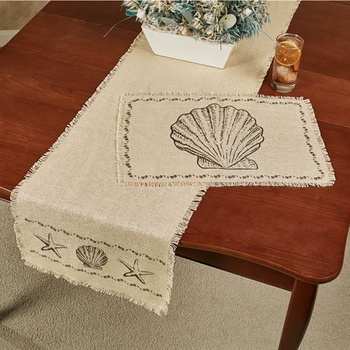 Seashore Table Runner Cream