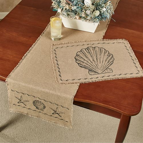Seashore Table Runner Tan