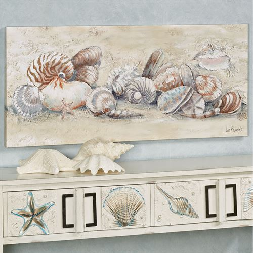 Seashell Medley Canvas Art