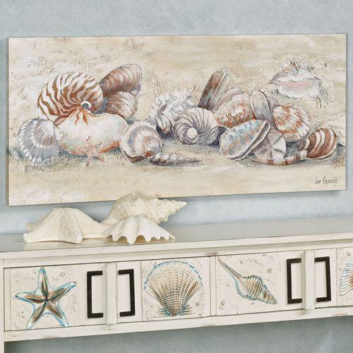 Seashell Medley Canvas Art