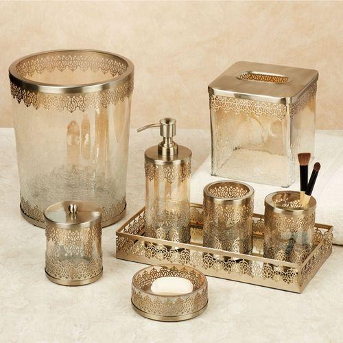 Ingrid Lotion Soap Dispenser Gold