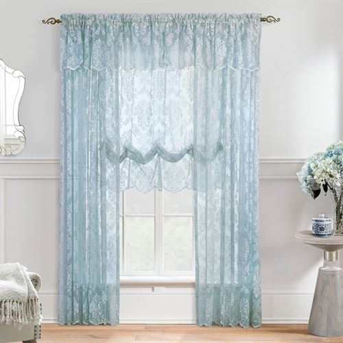 Petra Sheer Lace Curtain Panel