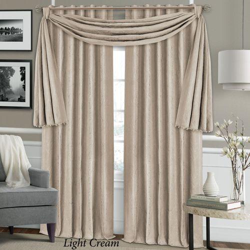 Bianca Blackout Curtain Panel