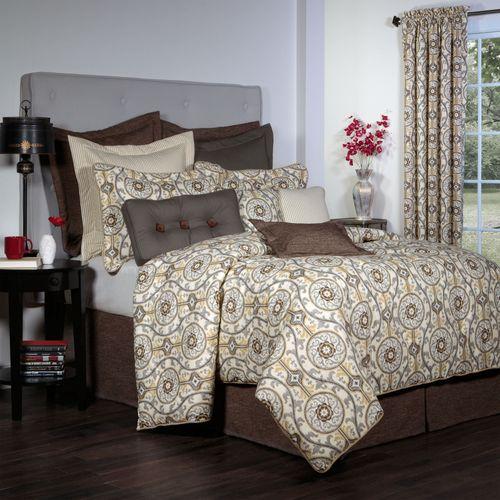 Izmir Comforter Set Gray