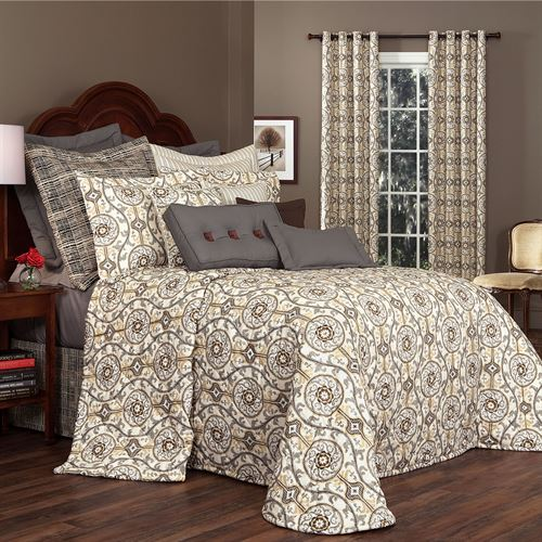 Izmir Bedspread Gray