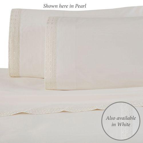 Martex Lace Sheet Set