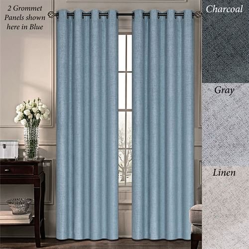 Chapin Grommet Curtain Panel