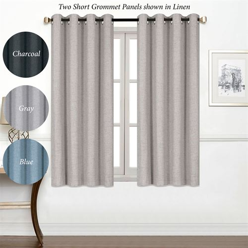 Chapin Short Grommet Curtain Panel