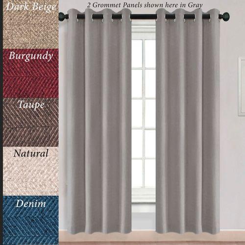 Ardara Grommet Curtain Panel