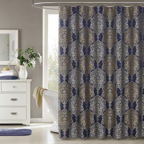 Palazzo Shower Curtain Indigo 72 X