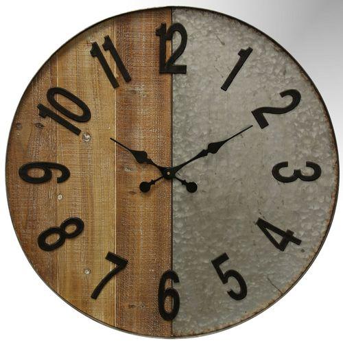 Brookwell Wall Clock Natural