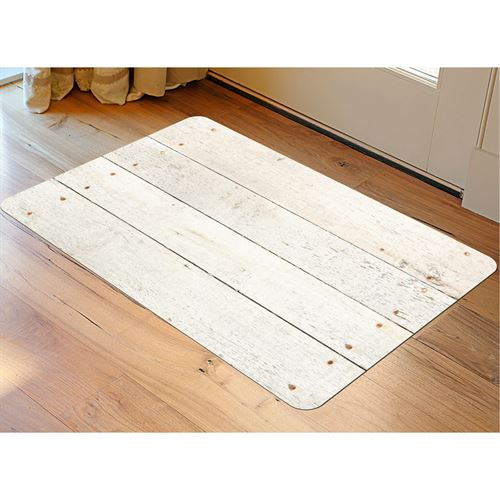 Whitewash FoFlor Accent Mat 36 x 23