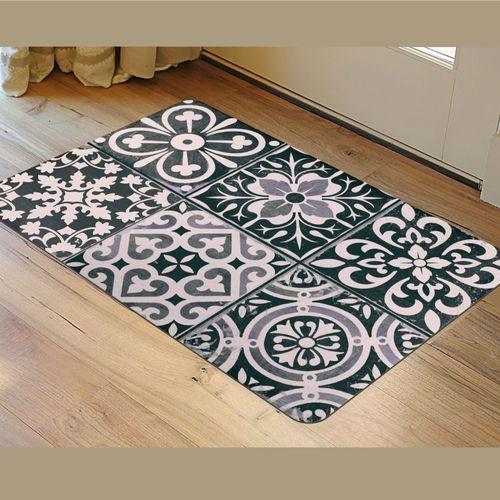 Ceramic Tiles FoFlor Accent Mat Ivory/Black 36 x 23